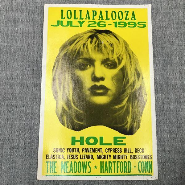 lollapalooza ロラパルーザ 当時物 ポスター sonicyouth nirvana