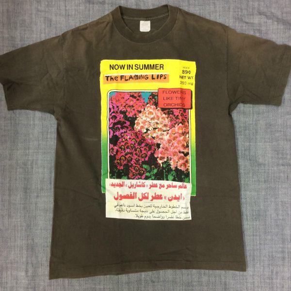 値下げ USA 90s flaming lips Tシャツ nirvana butthole sonic