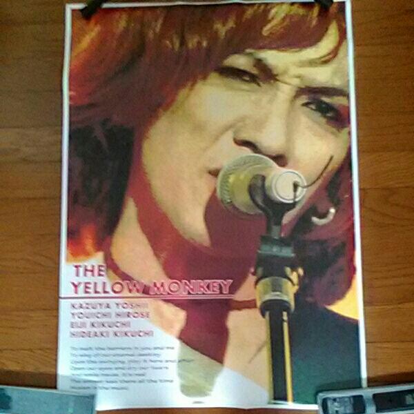 THE YELLOW MONKEY(吉井和哉)ポスター