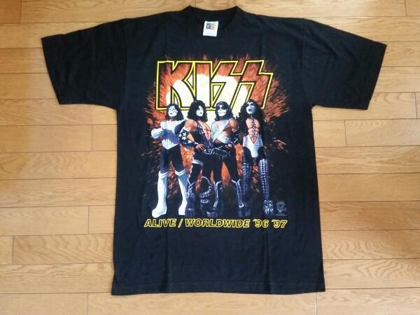 新品 KISS ALIVE/WORLDWIDE 96-97 Tシャツ ライブグッズの画像
