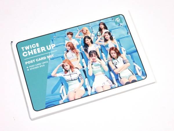 送無) TWICE★ポストカード & ステッカー SET 新品 D66