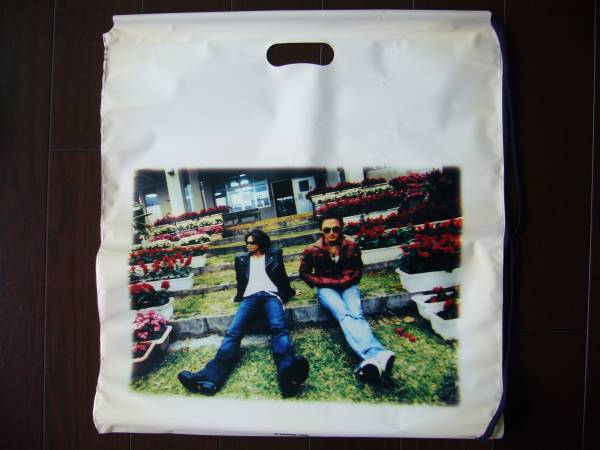 B'z LIVE-GYM 2005 CIRCLE OF ROCK ビニールバッグ