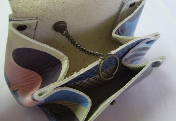 ■美品■グリデカナ■ぷっくり小銭入れ・財布・キーケース(パッチワーク風_画像3
