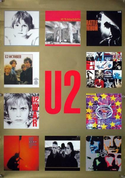 U2 ユートゥー ユーツー B2ポスター (1Z12007)