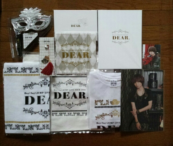 Hey!Say!JUMP ライブツアー DEAR グッズ 10点セット 伊野尾慧 コンサートグッズの画像