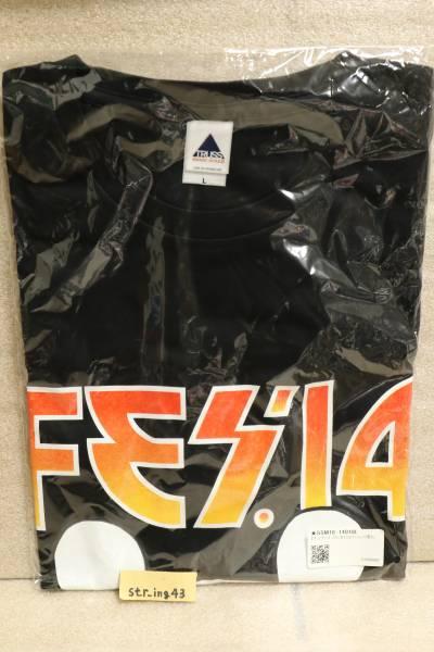新品 キュウソネコカミ FES '14 Tシャツ Lサイズ 2014 グッズ ライブグッズの画像