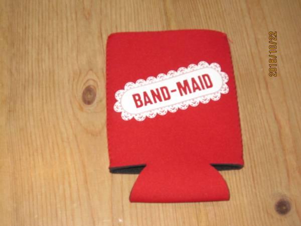 ◆BAND-MAID 新作クージー  赤 バンドメイド バンメ◆