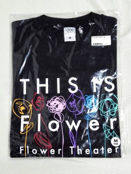 Flower Theater 2016~THIS IS Flower~ツアーTシャツ/BLACK/M