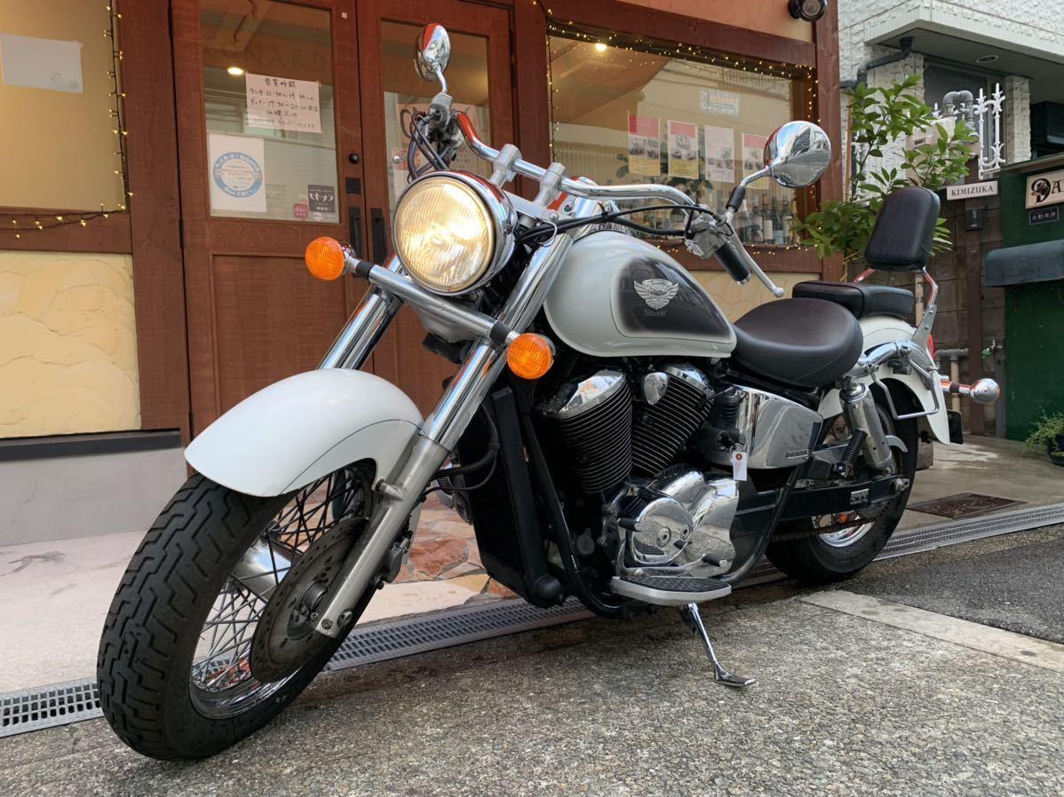 「ホンダ シャドウ400 車検R4年9月まで 走行距離1万キロ 機関良好 国産 アメリカン 中型バイク」の画像1