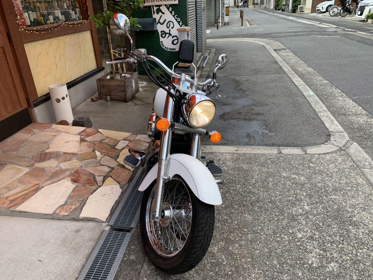 「ホンダ シャドウ400 車検R4年9月まで 走行距離1万キロ 機関良好 国産 アメリカン 中型バイク」の画像2