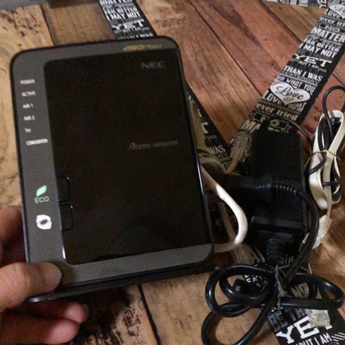 NEC/Aterm WR9500N/Wi-Fiルーター/無線LAN/ケーブル類欠品無し