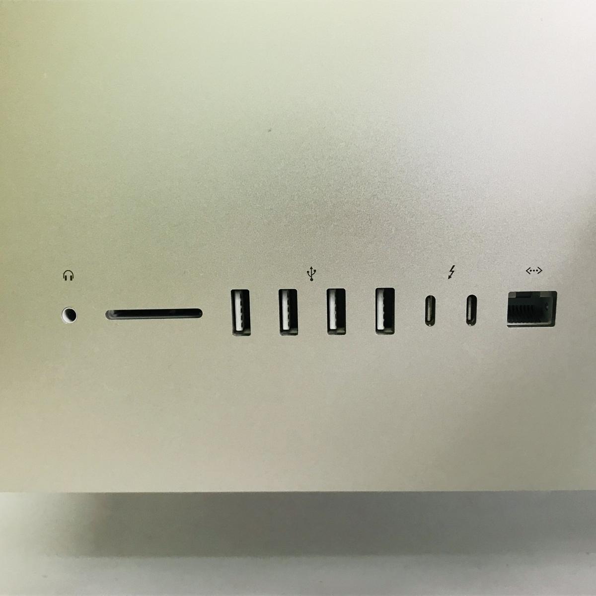 ジャンク iMac Retina 5Kディスプレイモデル 27インチ(Early2019) Core i9 3.6GHz/32GB/FD 2TB MRR12J/A_画像4
