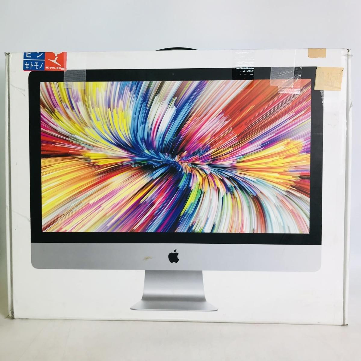 ジャンク iMac Retina 5Kディスプレイモデル 27インチ(Early2019) Core i9 3.6GHz/32GB/FD 2TB MRR12J/A_画像10