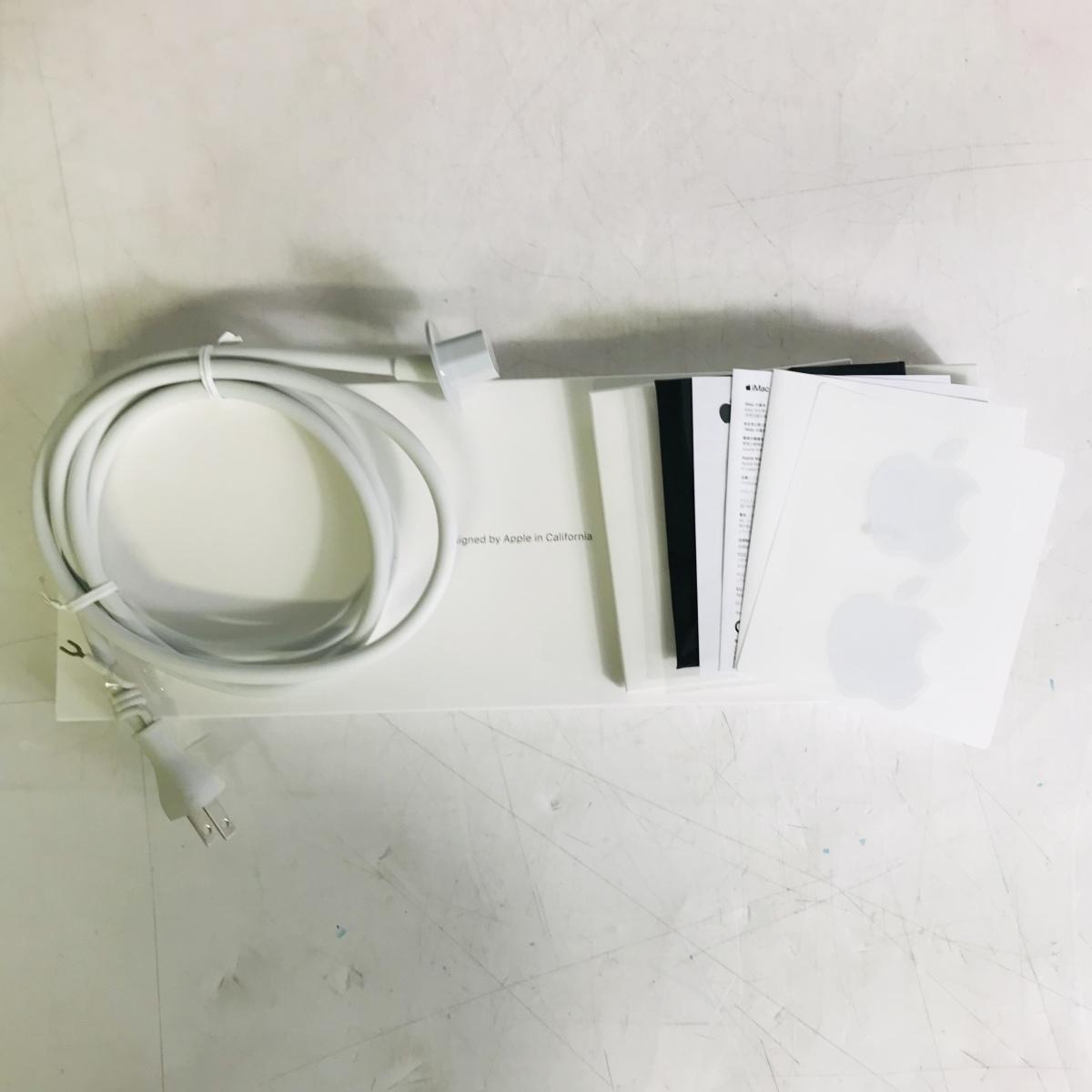 ジャンク iMac Retina 5Kディスプレイモデル 27インチ(Early2019) Core i9 3.6GHz/32GB/FD 2TB MRR12J/A_画像9