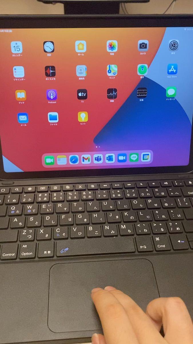箱なし カバーケース キーボード付き iPad Air 第4世代 Apple スカイブルー 64GB Wi-Fiモデル 美品