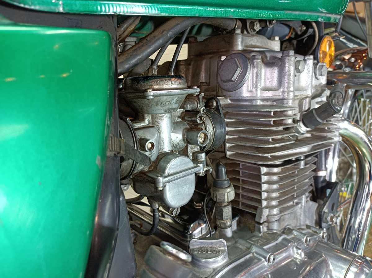「【登録書類有】【レストアベース】KAWASAKI KZ400 78年2月 旧車/希少価値 」の画像3