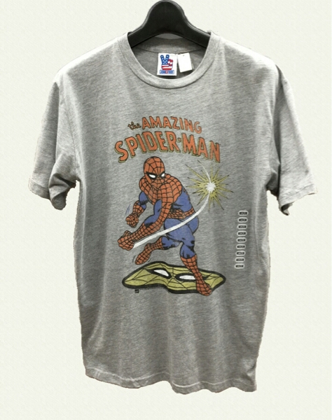 新品未使用 ジャンクフード スパイダーマン Tシャツ M アメコミ