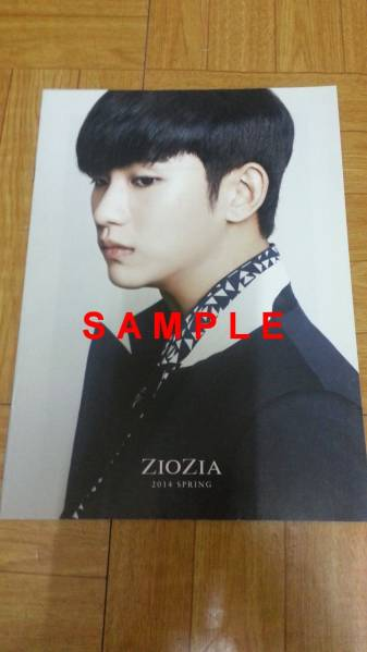 キム・スヒョン 韓国「ZIOZIA」2014年 春カタログ