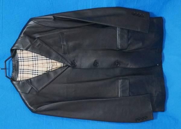 ■超美品■BURBERRY BLACKLABEL 革ジャケット ブラック 新品同様