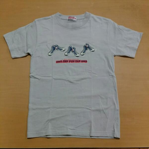 浜田省吾Tシャツ 100%FAN FAN FAN 2003 グレー