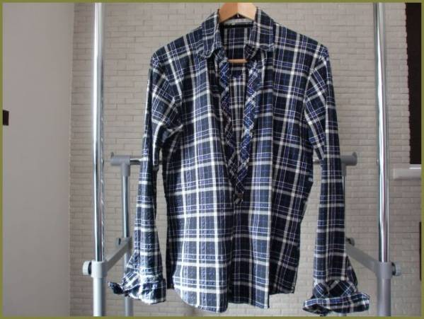 フランシストモークス 別注ハイビスカルチェックシャツ 2桜井