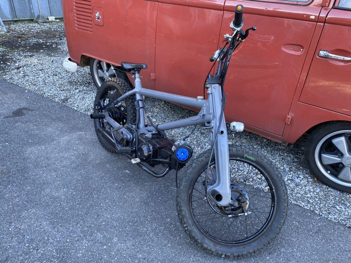 「HONDA BMXカブ カスタム スーパーカブ 50cc 90cc登録! カブチョッパー」の画像3