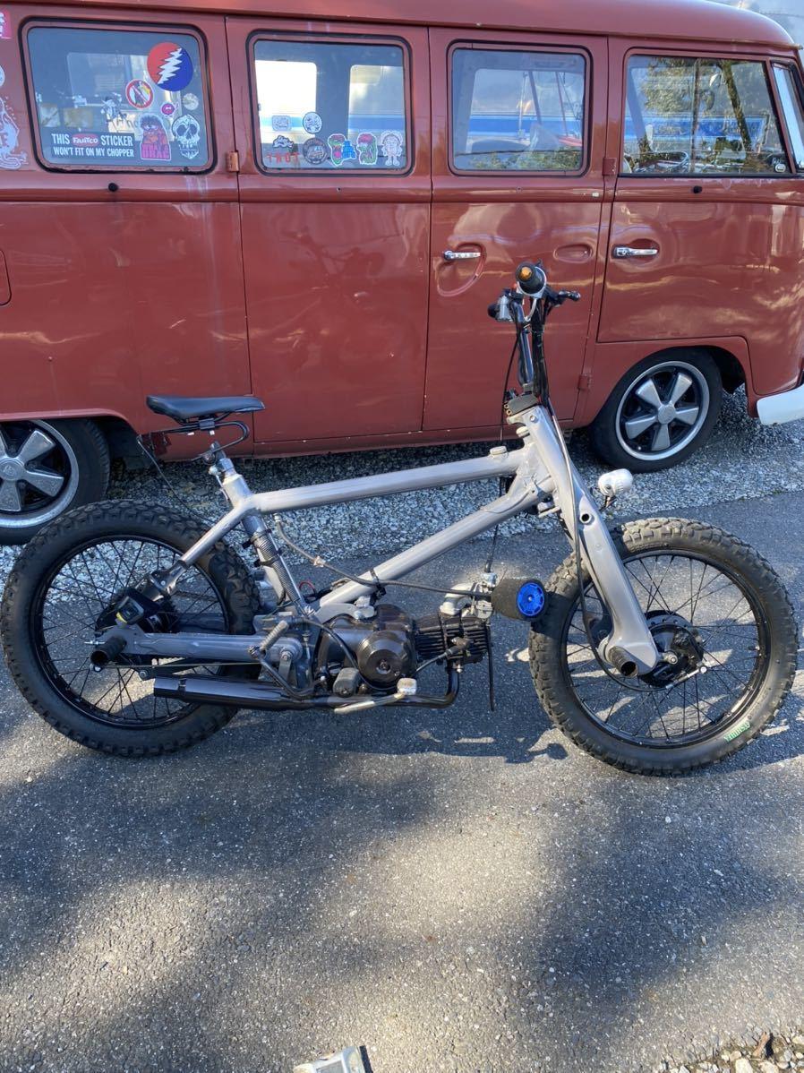 「HONDA BMXカブ カスタム スーパーカブ 50cc 90cc登録! カブチョッパー」の画像1