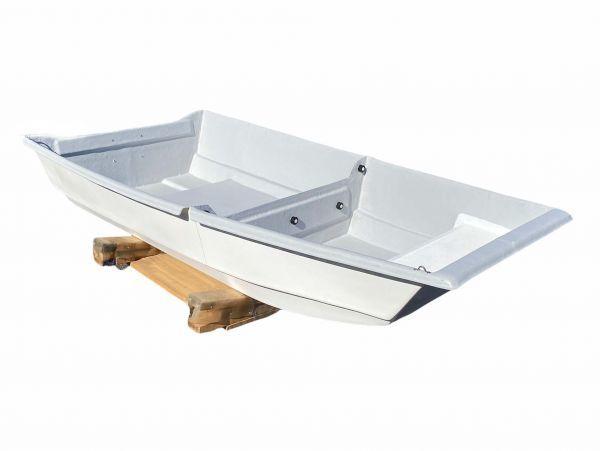 「09)【引取限定・現状渡し】FRPボート 2分割タイプ 試乗艇 三重県」の画像1
