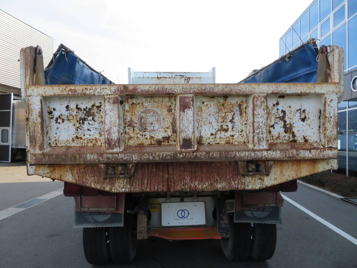 「【検査付きダンプ】いすゞ ギガ ダンプ 平成14年式 馬力:370ps 9400kg積載 荷台内寸:510×220 7速MT 車検:令和3年3月23日」の画像3