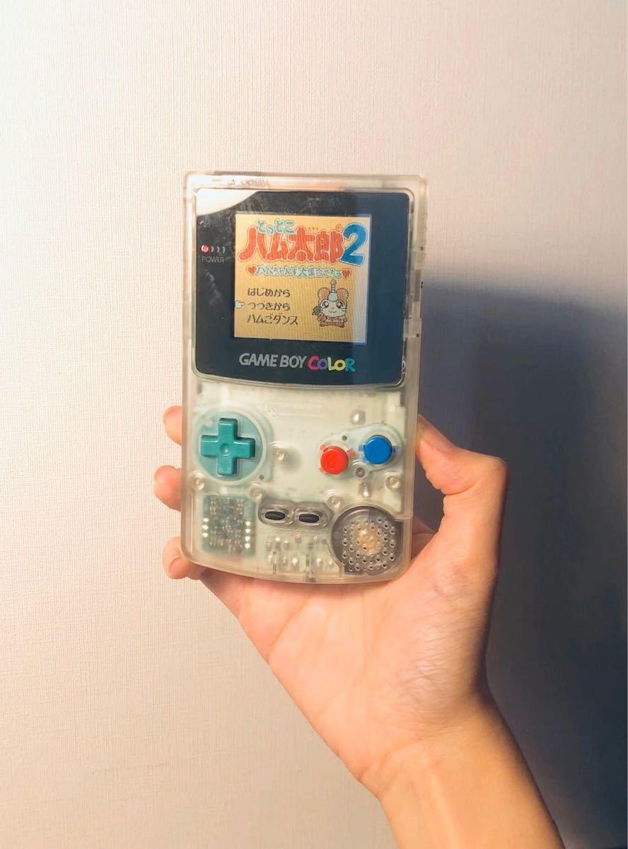 超美品 ゲームボーイカラー 任天堂 Nintendo 本体と人気ソフト4点セット