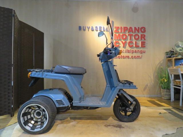「□HONDA GYRO X TD01 ホンダ ジャイロ エックス グレー 50cc 9899km 実動! 原付 原チャリ スクーター バイク 札幌発」の画像1
