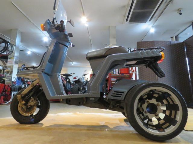 「□HONDA GYRO X TD01 ホンダ ジャイロ エックス グレー 50cc 9899km 実動! 原付 原チャリ スクーター バイク 札幌発」の画像2