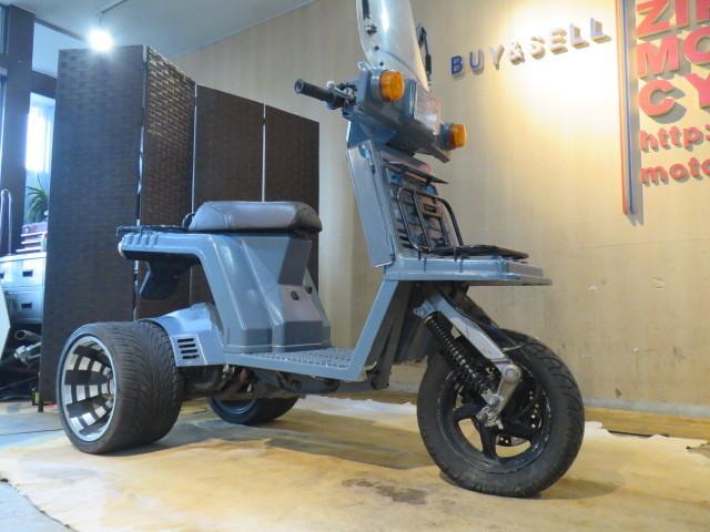 「□HONDA GYRO X TD01 ホンダ ジャイロ エックス グレー 50cc 9899km 実動! 原付 原チャリ スクーター バイク 札幌発」の画像3