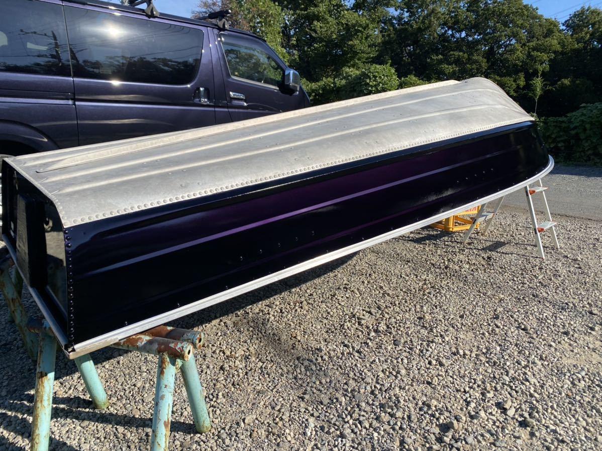 「シーニンフ12K アルミボート 塗装済み 書類あり」の画像1