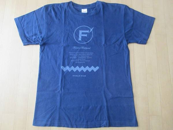 FRONTIER BACKYARD WORLD WIDE Tシャツ M ネイビー SCAFULL KING