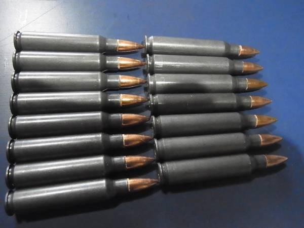 5.56x45mm 55 Gr. FMJ russian Barnaul used STEEL CASE カート_画像1
