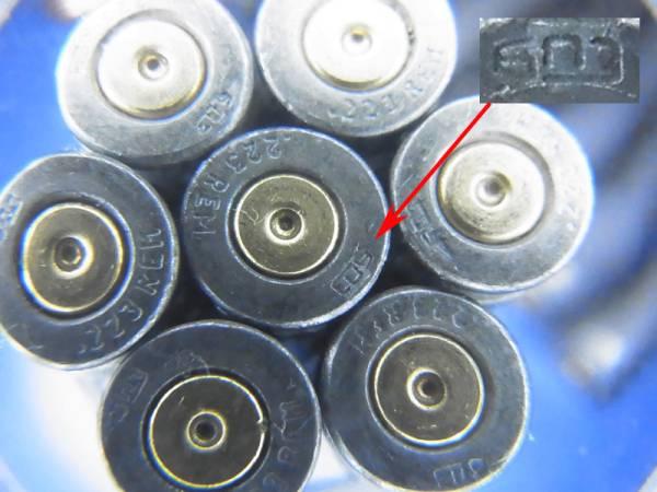 5.56x45mm 55 Gr. FMJ russian Barnaul used STEEL CASE カート_画像3