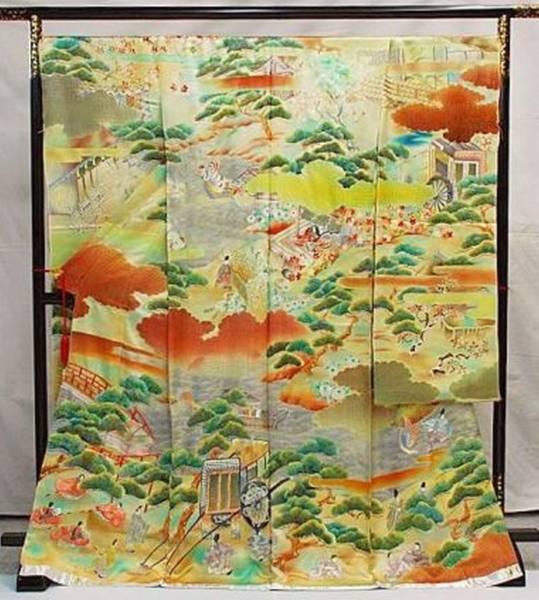 ◆一品物◆手刺繍振袖オリジナルNO14◆限定販売◆_画像1
