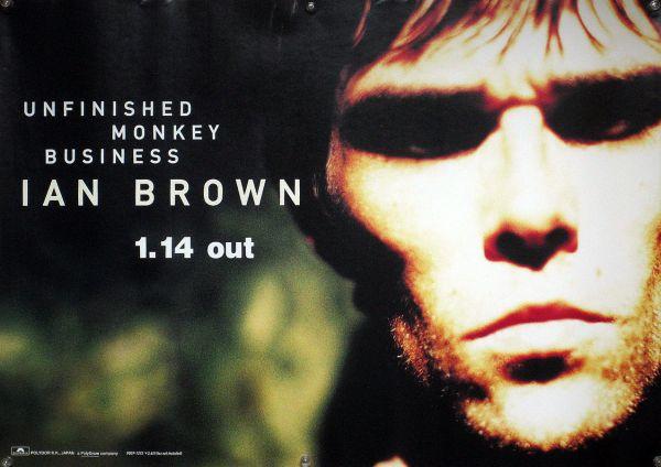 IAN BROWN イアン・ブラウン B2ポスター (1Z05006)