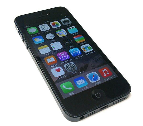 ☆simフリー Apple iphone5 16GB MD654LL/A ブラック/ZI1282代拍_海外代购 ...