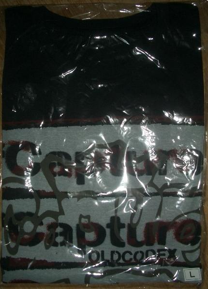 OLDCODEX Capture 武道館 Tシャツ(ブラック)Lサイズ