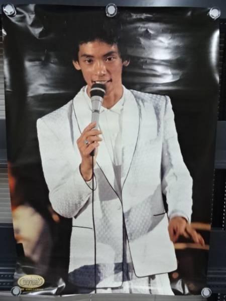 ★松山千春 古い昔のポスター