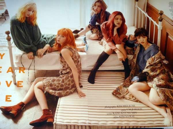 Red Velvet レッドベルベット☆彡韓国雑誌切り抜き 8ページ+目次