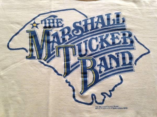 70'S ヴィンテージ Tシャツ MARSHALL TUCKER BAND ALLMAN