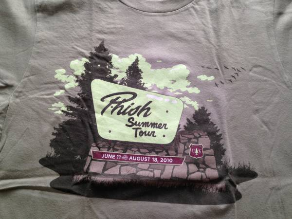 古着 Tシャツ PHISH SUMMER TOUR 2010 GRATEFUL DEAD フィッシュ