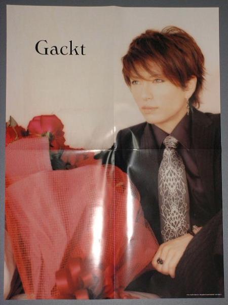 ★PATiPATi◆『Gackt ガクト☆両面ポスター』◆2004.6月号★