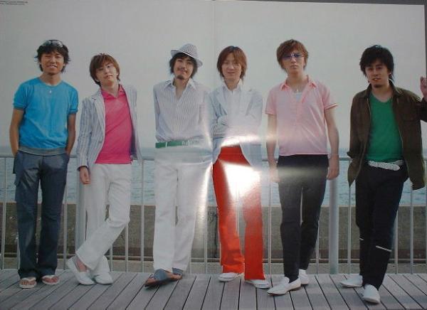 ★ARENA37℃★『RAG FAIR両面ポスター』★2005.7月号★