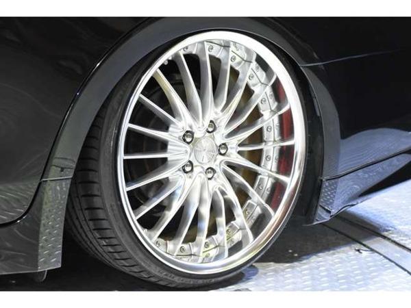 「クラウンアスリート ハイブリッド 2.5 S ブラックスタイル 黒革 車高調 J-uNitフォグ WORK20」の画像3