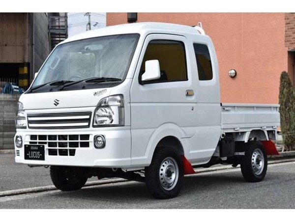 「キャリイ 660 スーパーキャリイ X 3方開 4WD 地デジナビ ETC 2inリフトアップ」の画像3