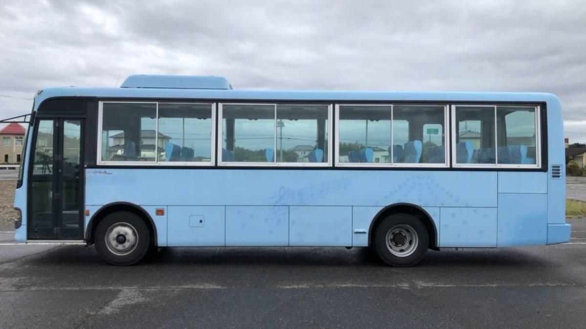 「目玉 売切り H12 いすゞ ガーラミオ 5MT  41人 オートドア 学童 社員 送迎 観光」の画像2